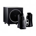 BOXE Logitech 2 1 Z523 RMS power 40 W 21W 2 x 9 5W All around sound Bl
