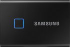 SSD Samsung Portable T7 Touch Black 500GB USB 3 2 tip C