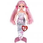 Ty Sirena Roz De Plus Cu Paiete 27cm