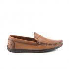 Pantofi barbati Benvenuti maro cognac din piele 1379bp5003cu