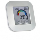 Ceas digital KH 0361 Iluminat LED cu higrometru Termometru Touchsreen