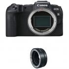 Aparat foto Mirrorless EOS RP 26 2 Mpx Body Black cu Inel Adaptor Mont
