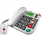 Telefon KXT481SOS 20 contacte Alb