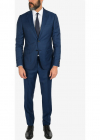 ZZEGNA 2 Button notch lapel Suit with Jetted Pocket