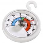 Termometru rotund pentru frigider sau congelator Alb