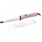 Ondulator conic CI 9525 Rose Luxe 210 grade Invelis ceramic Alb Roz