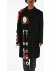 MM0 Embroidered Peacoat