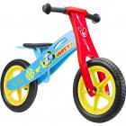 Bicicleta din lemn fara pedale 12 Mickey Seven SV9908 Initiala