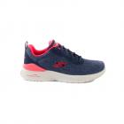 Pantofi sport femei Skechers bleumarin cu ro u 1961DPS14934BL