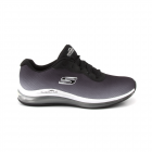 Pantofi sport femei Skechers negri cu albastru in degradee 1961DPS1490