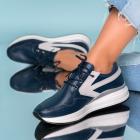 Adidasi Piele Naturala Bleumarin Yoselin X2015