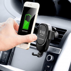 Suport telefon auto cu incarcator wireless Smarty Holder