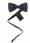 Satin Bow Tie In Grey Z8D604 SHB