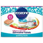 Tablete pentru masina de spalat vase stralucire 65 buc Ecozone