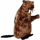 Jucarie pentru caini castor de plus cu sunet 40 cm