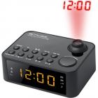 Radio cu ceas MUSE M 178 P portabil cu proiectie ajustabila Dual Alarm