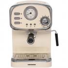 Espressor cafea HEM 1100CR 15 Bar 1 25 Litri 1100W Crem