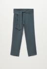 Pantaloni din lyocell cu croiala ampla Amelie