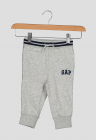 Pantaloni sport cu talie in dungi