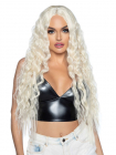 Peruca Beachy wave long wig Galben