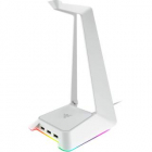 Stand Casti Cu Hub USB Base Station Chroma Headphone Alb