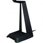 Stand Casti Cu Hub USB Base Station Chroma Headphone Negru