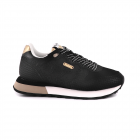 Pantofi sport femei Pepe Jeans negri cu bej 3191DPS31160N