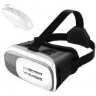 Ochelari VR PAK265 3D cu telecomanda Bluetooth White