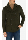 3 button double breasted Chesterfield coat