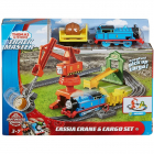 Set by Mattel Thomas and Friends Cassia Crane and Cargo sina cu locomo