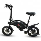 Bicicleta electrica pliabila roti 14 DYU D3F Megawheels Negru