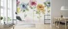 Fototapet Rainbow Seeds Floral personalizat Photowall