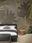 Fototapet contemporan Siren Leaves personalizat idea murale
