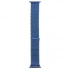 Curea smartwatch Cloth Albastru pentru Apple IWatch 1 2 3 4 5 6 SE 38