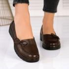 Pantofi Casual Piele Ecologica Maro Lia X2572