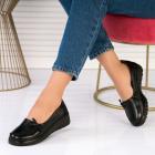 Pantofi Casual Piele Ecologica Negri Lia X2570