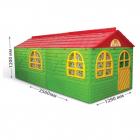 Casuta de joaca 02550 23 Green Red Big