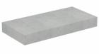 Blat Ideal Standard Adapto pentru lavoar 60x50 5xH12 cm gri pietris