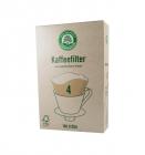 Filtre pentru Cafea Gr 4 Lebensbaum 100 bucati