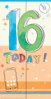 Felicitare 16th Birthday Baieti