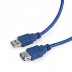 Cablu date USB AM 3 0 la USB AF 3 0 T M Cablexpert CCP USB3 AMAF 6 1 8