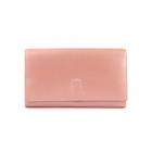 Portmoneu femei Enzo Bertini rox metalizat din piele 2641DPU2655RA