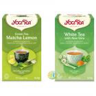 Ceai Verde cu Matcha si Lamaie Ecologic Bio 17dz Ceai Alb cu Aloe Vera