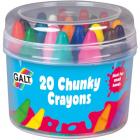20 Chunky Crayons Set 20 Creioane Cerate