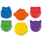 Set 6 Creioane Colorate Animalute