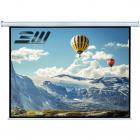Ecran de proiectie electric perete tavan marime vizibila 260 x 147 cm