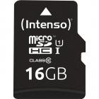 Card de memorie R45 Premium 16GB MicroSDHC Clasa 10 UHS I U1 Adaptor S