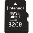 Card de memorie R45 Premium 32GB MicroSDHC Clasa 10 UHS I U1 Adaptor S
