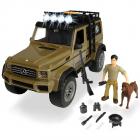 Masina Dickie Toys Playlife Ranger Set cu masina Mercedes Benz AMG 500