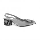 Pantofi femei Enzo Bertini gri din piele 2809dd17840gr